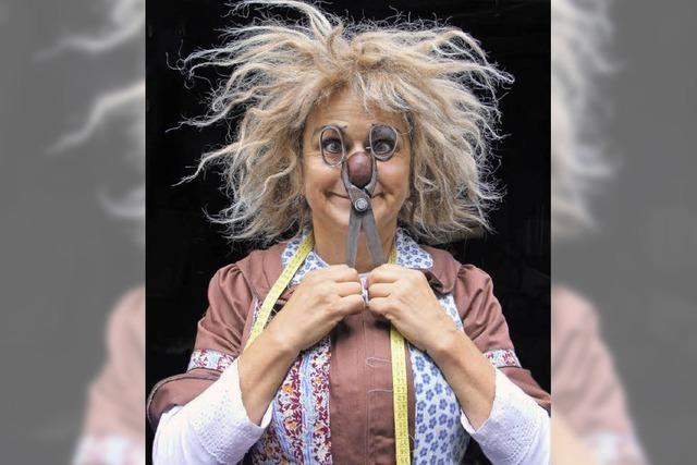 Die Clownin Gardi Hutter spielt