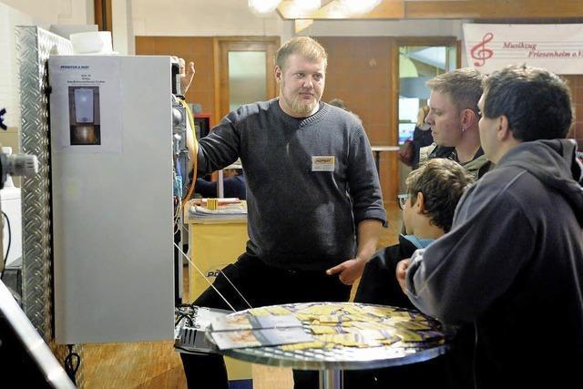 Die fünfte Energiemesse Frie-Energie in der Sternberghalle