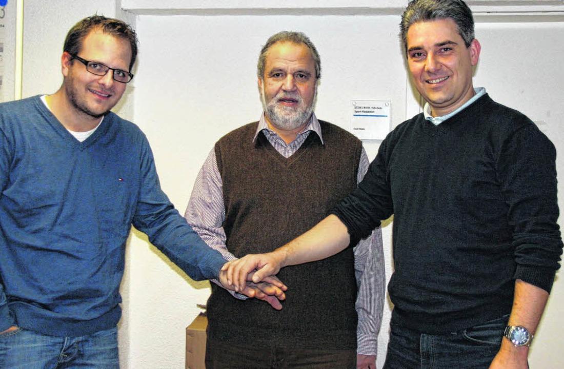 Gemeinsam möchten sie neue Wege mit de...sident und Ralf Eckert, Vizepräsident.    Foto: Fabienne Zintl