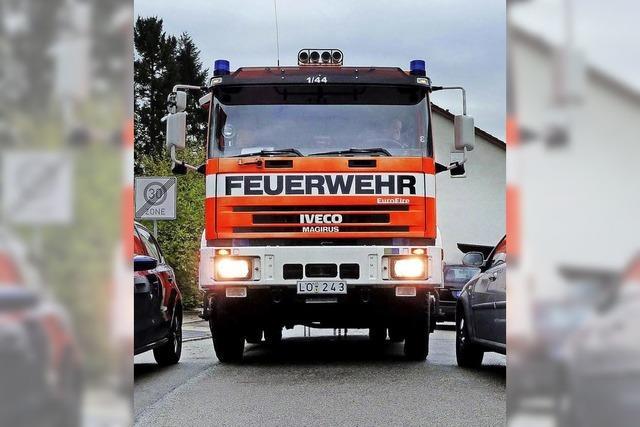 Wenn die Feuerwehr nicht ausrücken kann