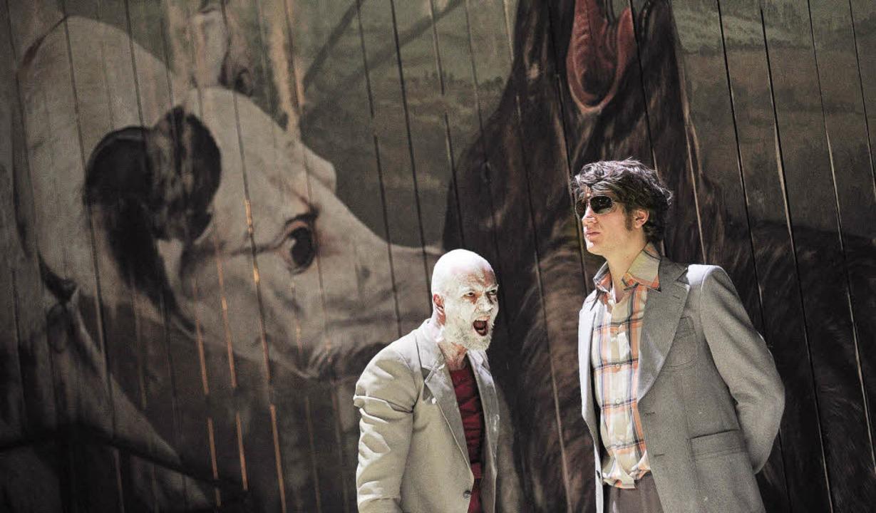 Theater Freiburg: Warten auf die Barbaren  | Foto: Maurice Korbel