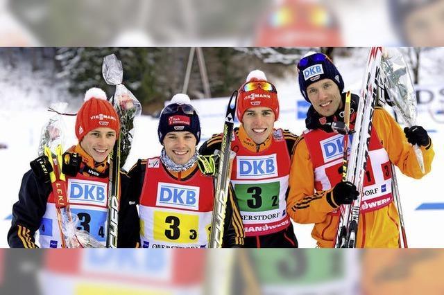 Sotschi kann kommen: Doppelsieg für Frenzel und Rießle in Oberstdorf