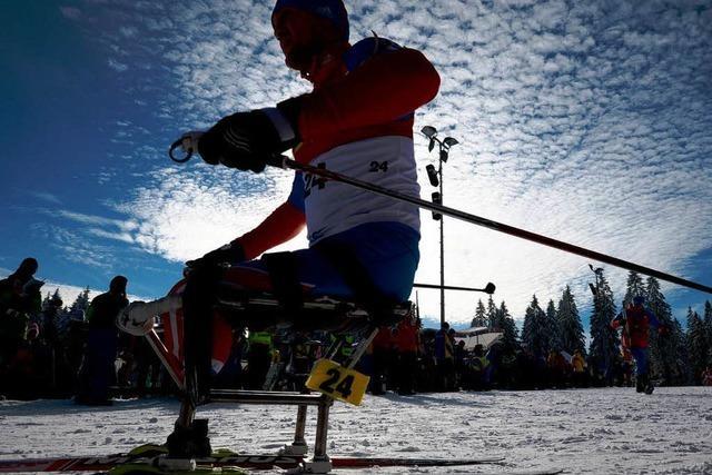 Russische Handicapsportler dominieren am Notschrei