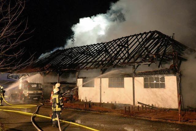 Brandursache weiter unklar – Sachverständiger ermittelt