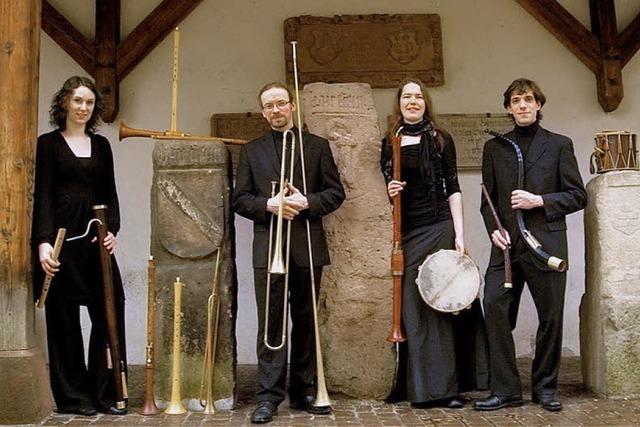 Ensemble Mandragora beim Forum für Alte Musik Freiburg