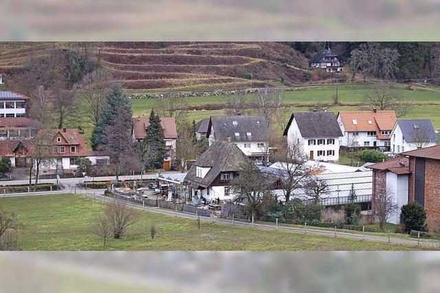 Glashalle erweitert Schwarzwaldhaus