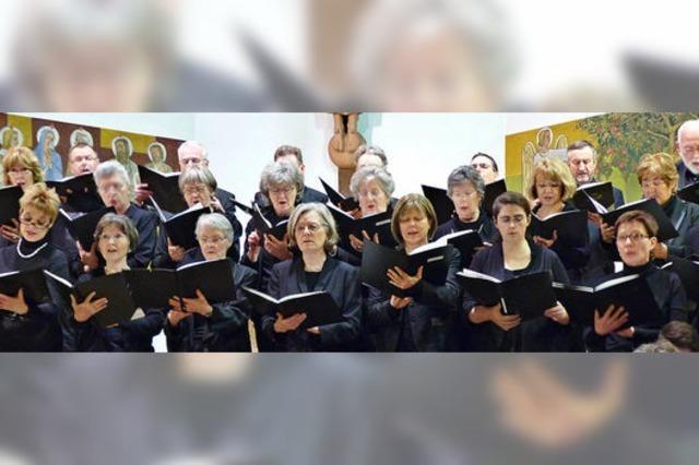 Kammerchor schenkt sich ein Konzert