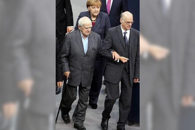 Schriftsteller Grani spricht im Bundestag