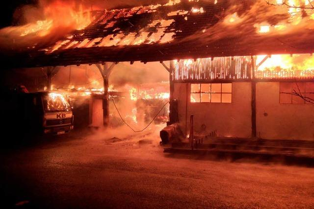 Brandstiftungs-Serie in Waldkirch: Feuerwehr ist sauer