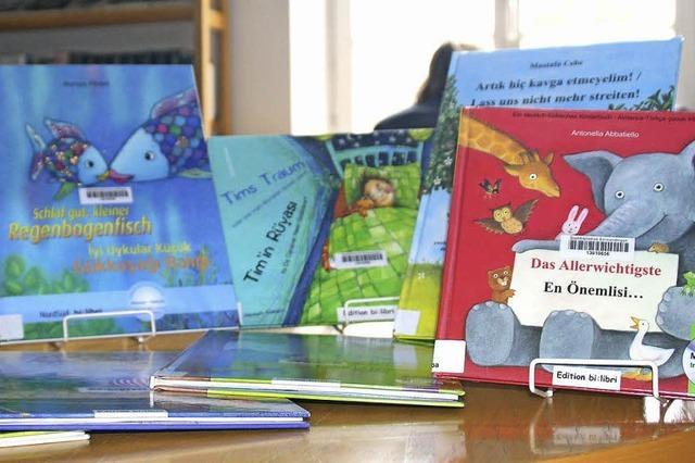 Mit Büchern zur Integration