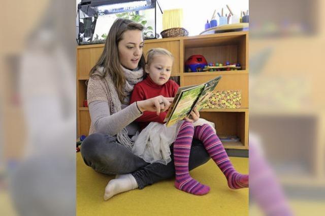 Im Kindergarten Maria Hilf bleibt es auch nach dem Neubezug spannend