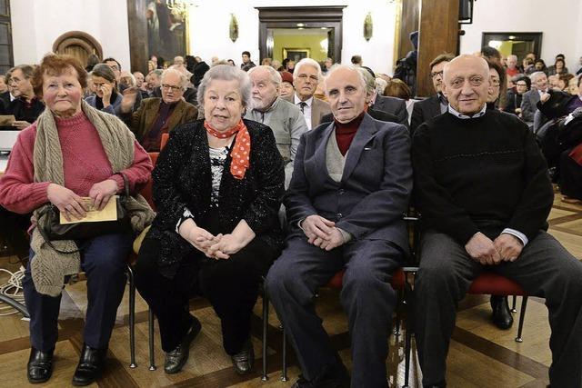 Gedenkveranstaltung zur Befreiung von Auschwitz in Freiburg