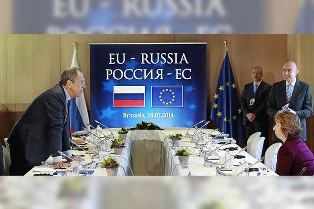 Brüssel und Moskau wollen nochmals rechnen