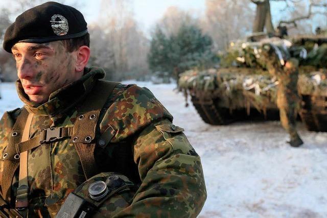 Wehrbeauftragter sieht Soldaten am Limit