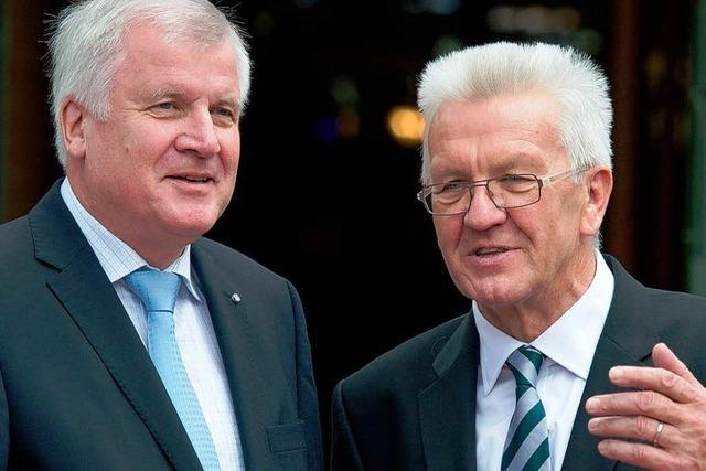 SPD ist sauer über Treffen von Kretschmann mit Seehofer