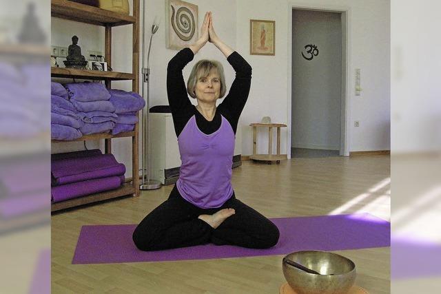 Yoga auch in der Mittagspause