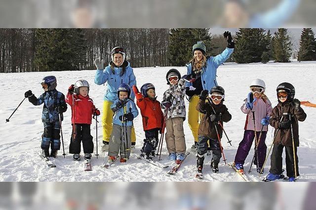 Fast alle Skikurse konnten stattfinden