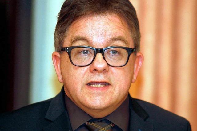 Guido Wolf auf Basis-Besuch in Lahr
