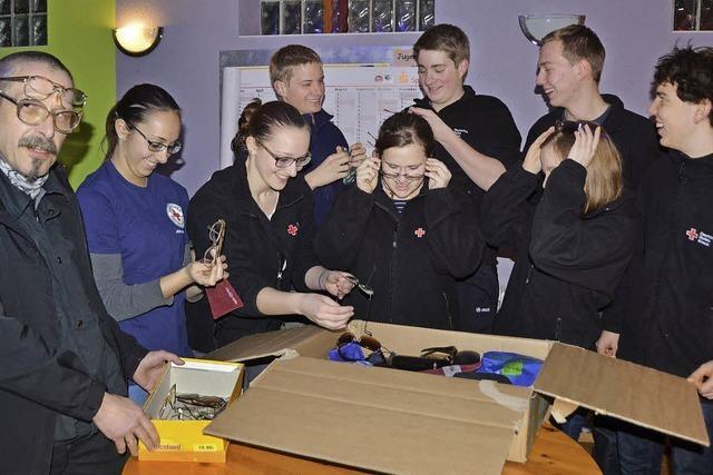 Jugendrotkreuz sammelt 700 Brillen