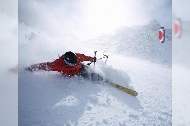 BADISCHE-ZEITUNG.DE: Snowkiten