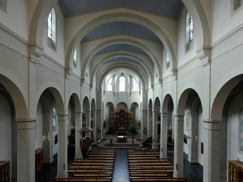 Die Pfarrkirche St. Georg vor dem Einbruch  | Foto: Ingo Schneider