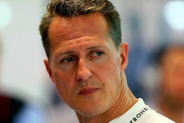 Michael Schumacher wird aus künstlichem Koma geholt
