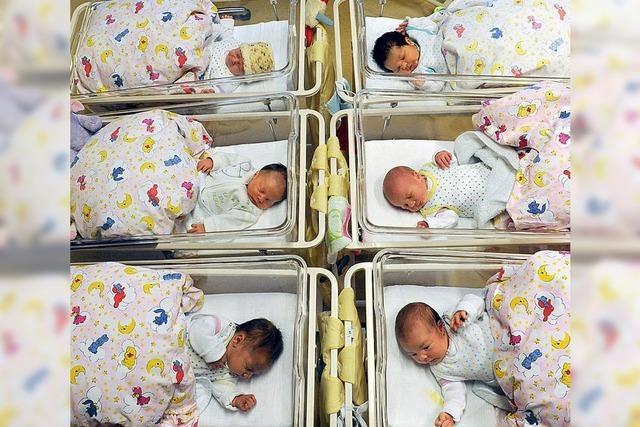 Geburtenzahl steigt um 67