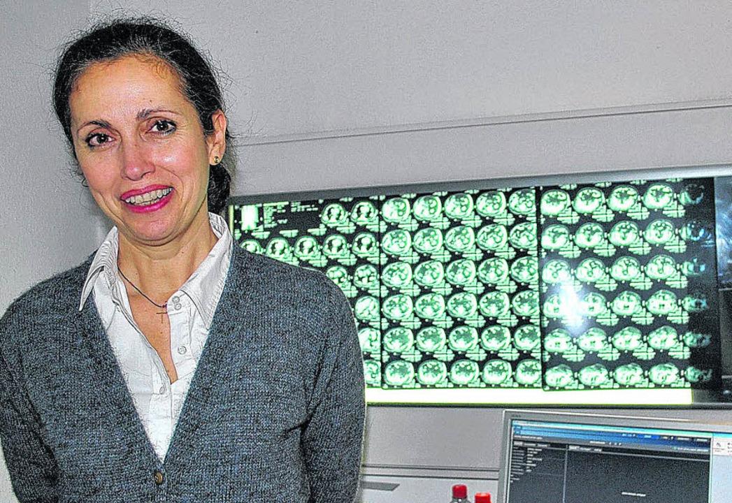 Radiologin Georgia-Lemonia Kostaki hat...mit auf den Radiologen Alfred Hämmerle  | Foto: BZ