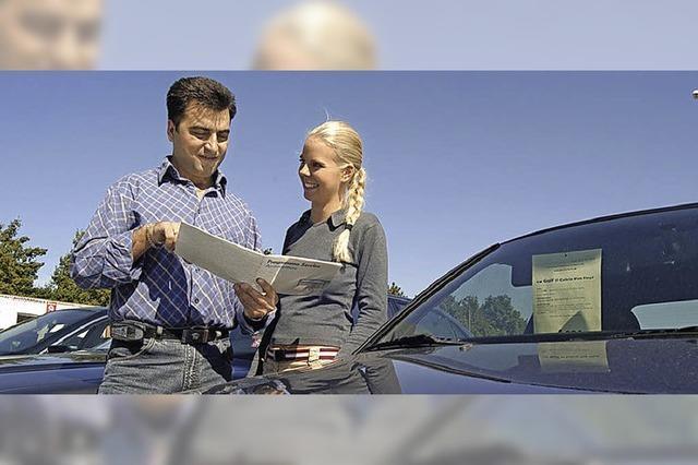 Testfahrer sind gut versichert