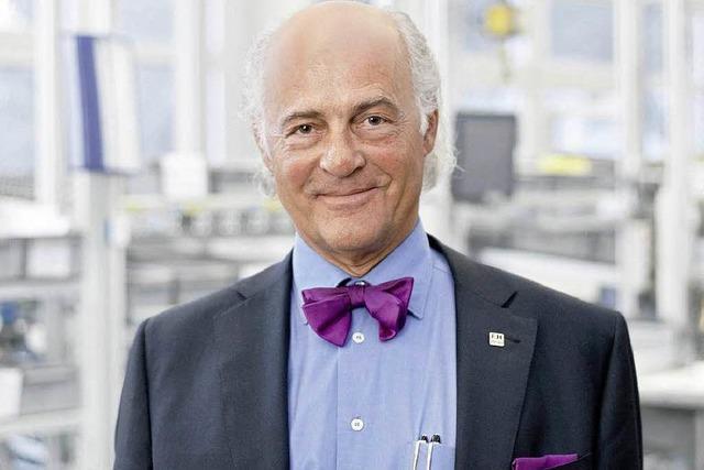 Klaus Endress will WVIB-Präsident bleiben
