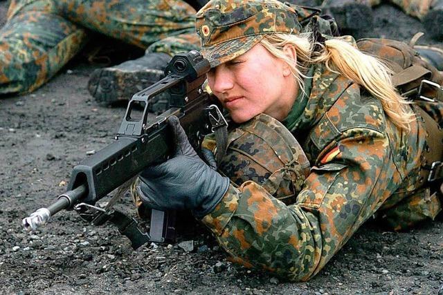 Deutsche wollen kein größeres militärisches Engagement