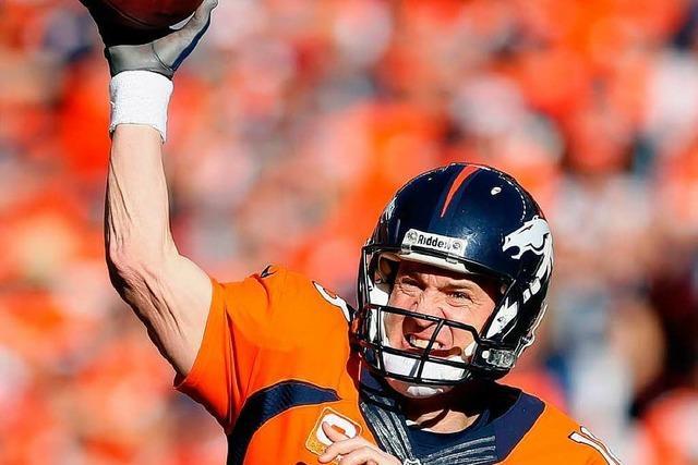 Peyton Manning ist der Star des Super Bowl
