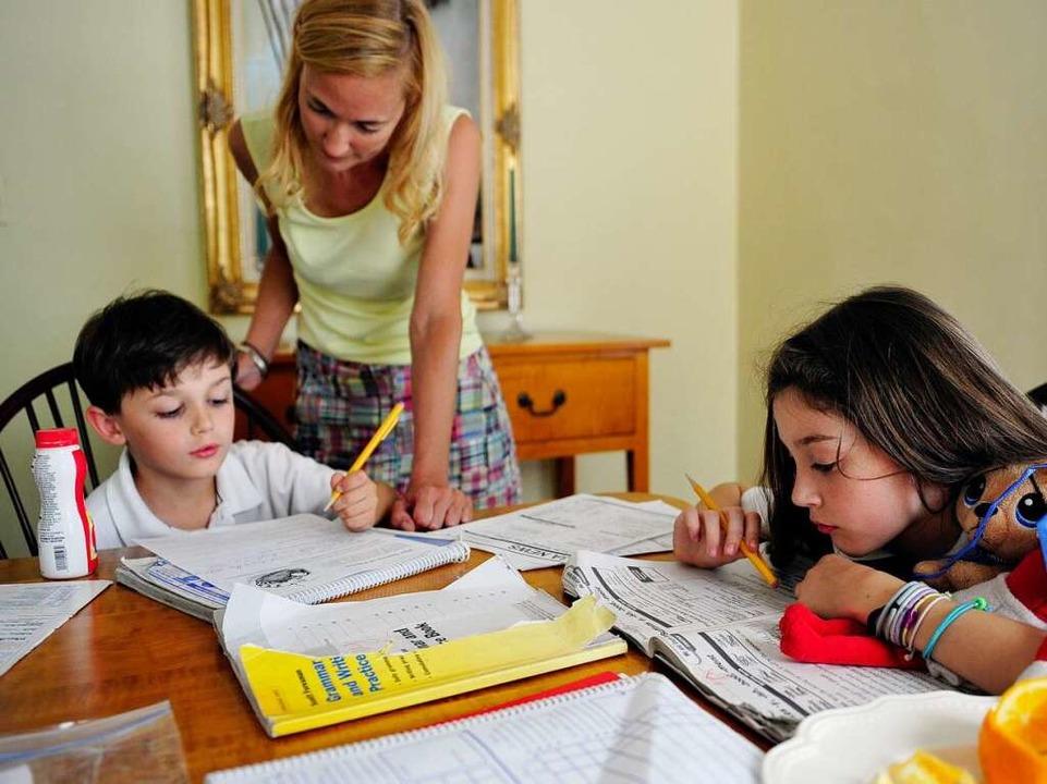wie sehr dominiert die schule das familienleben bildung wissen badische zeitung. Black Bedroom Furniture Sets. Home Design Ideas