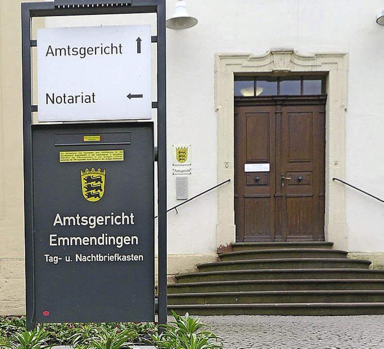 Im Emmendinger Amtsgericht wurde eine brutale Beziehungstat verhandelt.  | Foto: Patrik Müller