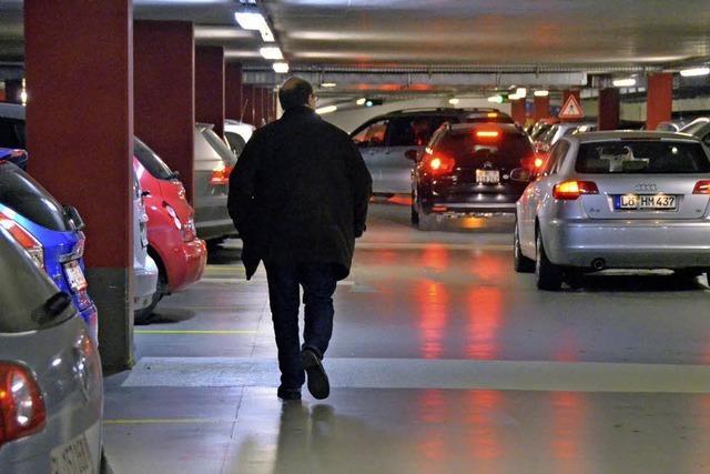 Kein Parkraum für Pendler