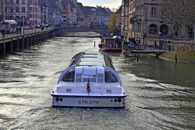 Die Straßburger Ausflugsboote sind der Hit