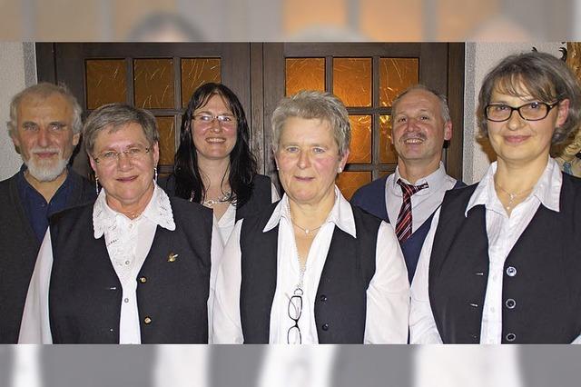 Ein Team übernimmt den Vorsitz im Kirchenchor