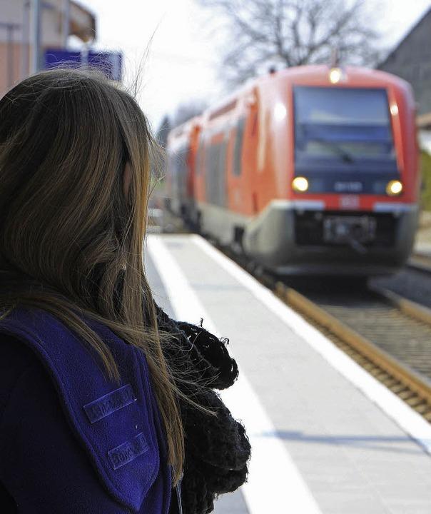 Wenn sie den Anschlusszug nicht erreic...n nächsten Zug und sind davon genervt.    Foto: Bianca Fritz