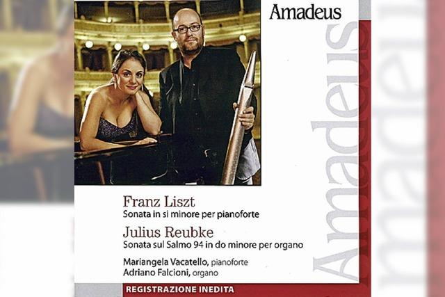 CD: KLASSIK: Vom Feuer der Sonate