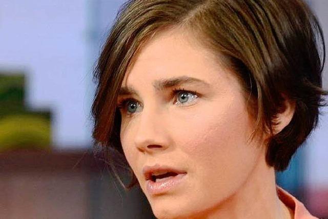 Italienische Polizei stellt Ex-Freund von Amanda Knox