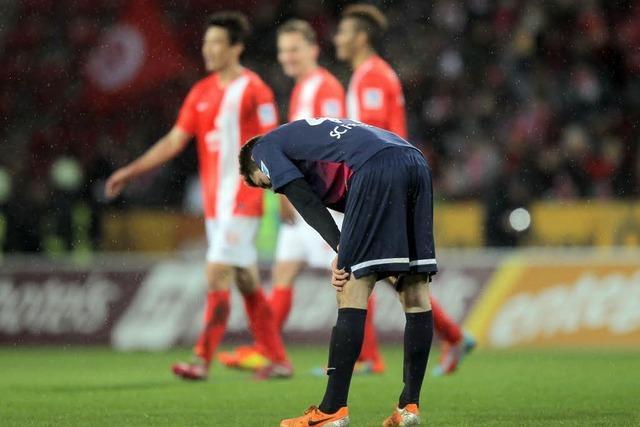 Enttäuschende Leistung: Freiburg verliert 0:2 in Mainz