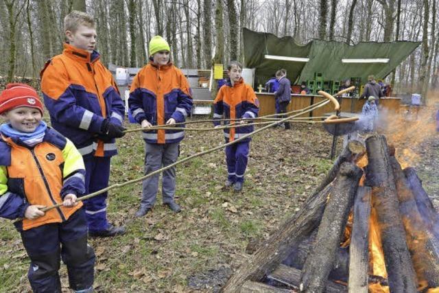 Mehr Feierlaune als Höchstgebote in Waltershofen
