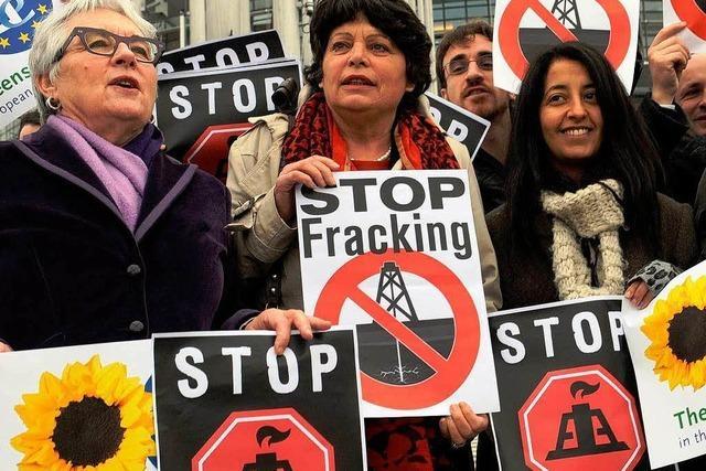 Neue Umweltministerin erteilt Fracking eine Absage