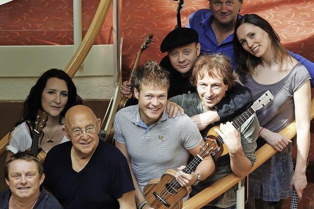 Ukulele Orchestra of Great Britain in Merzhausen: Überraschend und lustig