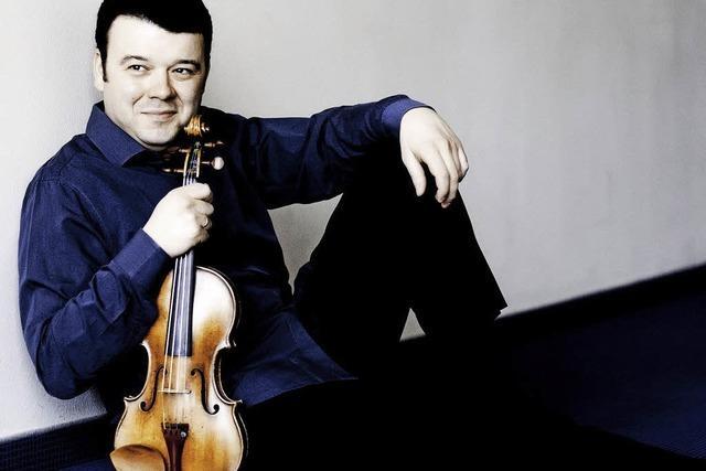 Ein Streichfest: Vadim-Gluzman-Quintett in der Freiburger Musikhochschule
