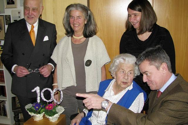 Die Wünsche einer Hundertjährigen