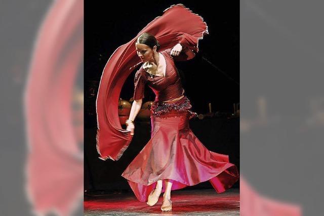 Die Flamenco-Tänzerin Bettina Castano tritt im E-Werk auf