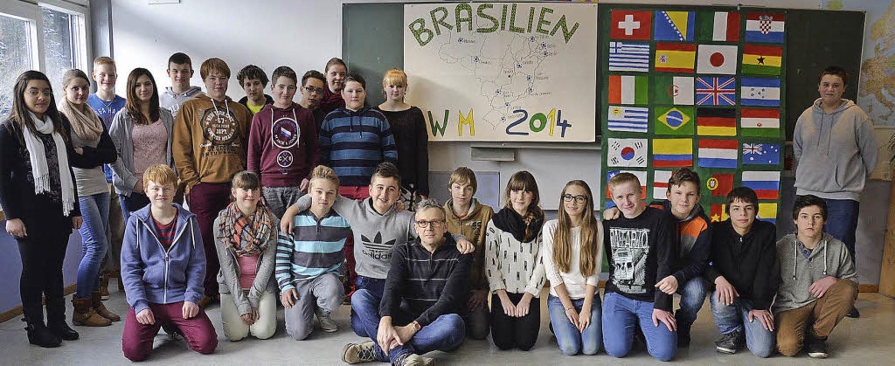 Für die 25 Schülerinnen und Schüler de...rn auch innerhalb des Klassenzimmers.     Foto: privat