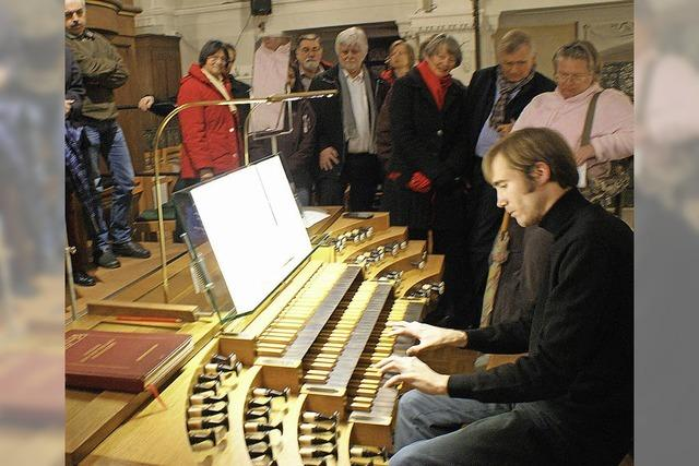 Improvisation hautnah in der St. Josefskirche