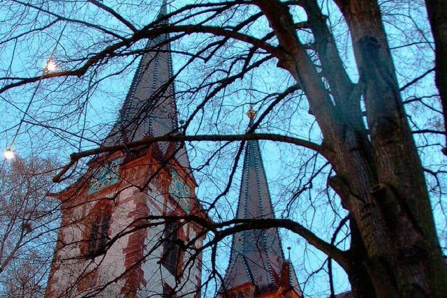 Unbekannte zünden Beichtstuhl in St. Laurentius an